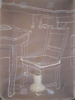 Moving House #4 (chair) 2008 by Annalise Rees